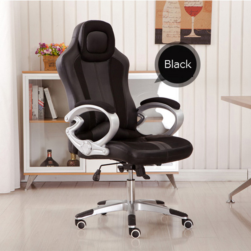 first rate 637bc bb3e3 US $135.2 20% OFF Gray Office Gaming Chair Racing Seats Computer Chair  Rocker-in Office Chairs from Furniture on Aliexpress.com   Alibaba Group