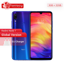 Global Version Xiaomi Redmi Note 7 3GB 32GB Snapdragon 660 AIE 6.3'' Water Drop FHD+ Screen Mobile Phone 48MP Cameras Smartphone(China)