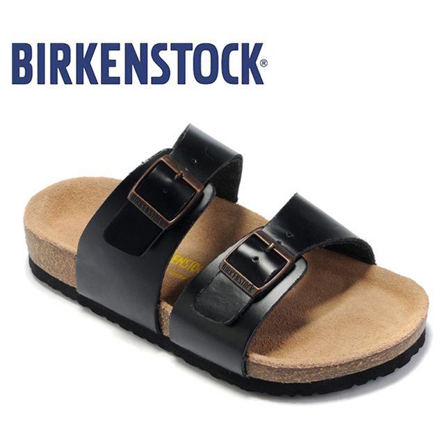 2018 Birkenstock Women S Sandals 824 Clic On Beach Slides Modis Shoes Leather Summer