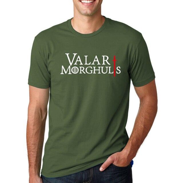 Game of Thrones Valar Morghulis O-Neck T-Shirt