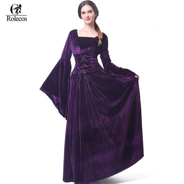 Online Shop ROLECOS Medieval Renaissance Victorian Women Evening ...