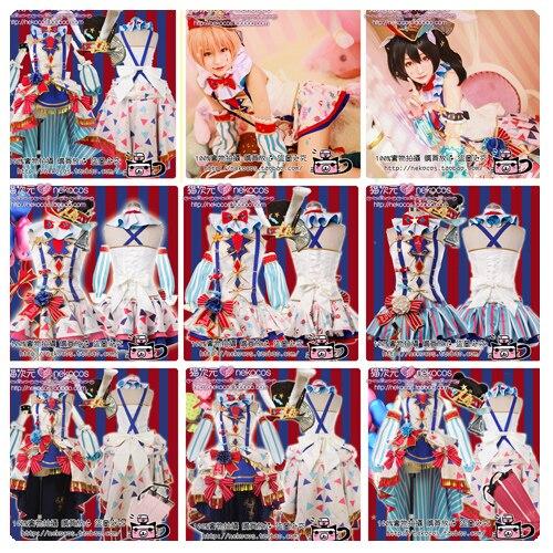 Szeress, élj! Awaken Circus Cosplay jelmez Minden tag Nishikino Maki - Jelmezek - Fénykép 2