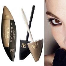 dual-headed super-concentrated Mascara 2 * 10ml 3D Mascara volume express false eyelashes make up waterproof cosmetics eyes