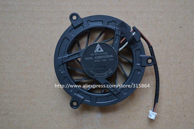 New original laptop fan for HP 4410S 4411S 4415S 4416S 4510S 4515S 4710S KSB0505HA cpu cooler fan