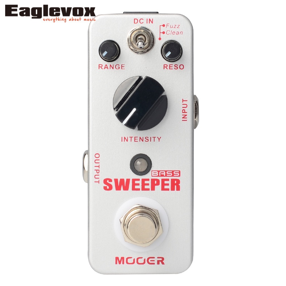 Mooer Sweeper Bass Dynamic envelope filter pedal for bass and guitar True Bypass mooer sweeper bass effects pedal dynamic envelope filter