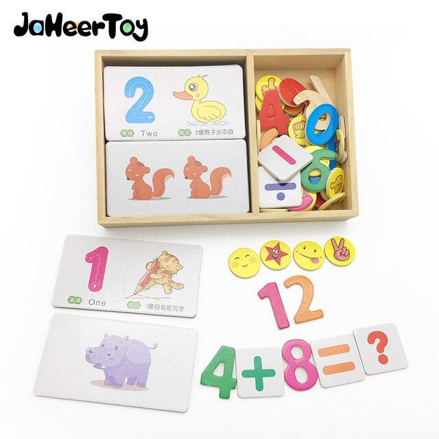JaheerToy Math Toys for Children 1 10 Digital Cognition Animals ...
