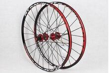 Envío gratis mtb bike ruedas rt rc5 ruedas de fibra de carbono 26 27.5 rueda de bicicleta de montaña ultra-ligero ruedas de bicicleta grandes centros partes