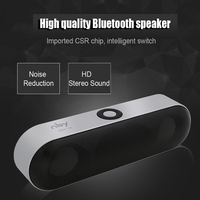2016 Mini Bluetooth Speaker Portable Wireless Speaker Sound System 3D Stereo Music Surround Support TF AUX