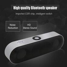 2016 Mini Bluetooth Динамик Портативный Беспроводной Динамик звук Системы 3D музыке стерео объемного Поддержка TF AUX USB оптом