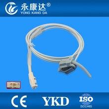 Datex-Ohmeda OxyTip+ OXY-F-UN Compatible Neonate Silicon Wrap SpO2 Sensor, 8pins, 1m
