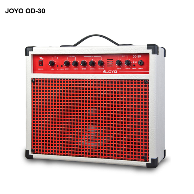 Cheap JOYO OD-30Digital Guitar Amplifier using a real 12AX7 tube with transistor circuitry to produce intense distortion effect