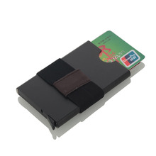 New Aluminium Alloy Anti Rfid Blocking Bank Card Holder ID Bank Card Case Rfid Protection Metal Credit Card Holder 2016 new aluminium alloy employee worker id card holder with lanyard