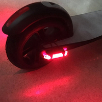 Xiaomi Mijia M365 Electric Scooter Skateboard Warning Rear Tail Flashlight Lamp USB Night Cycling Safety Light Torch Replacement