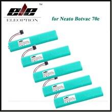 Bateria de Substituição para Neato 5 Pcs Eleoption Ni-mh 12 V 4500 Mah 70e 75 80 85 D75 Botvac D8 D85 Aspirador de PÓ Bateria