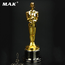 59mm Collectible 1/6 Scale Oscar statuette Action Figure Small golden statue figure Toys Gift for collection blue iron man mk3 mark3 lifte size 1 1 bust statue scale tony strak recast action figure collectible boyfrien birthday gift