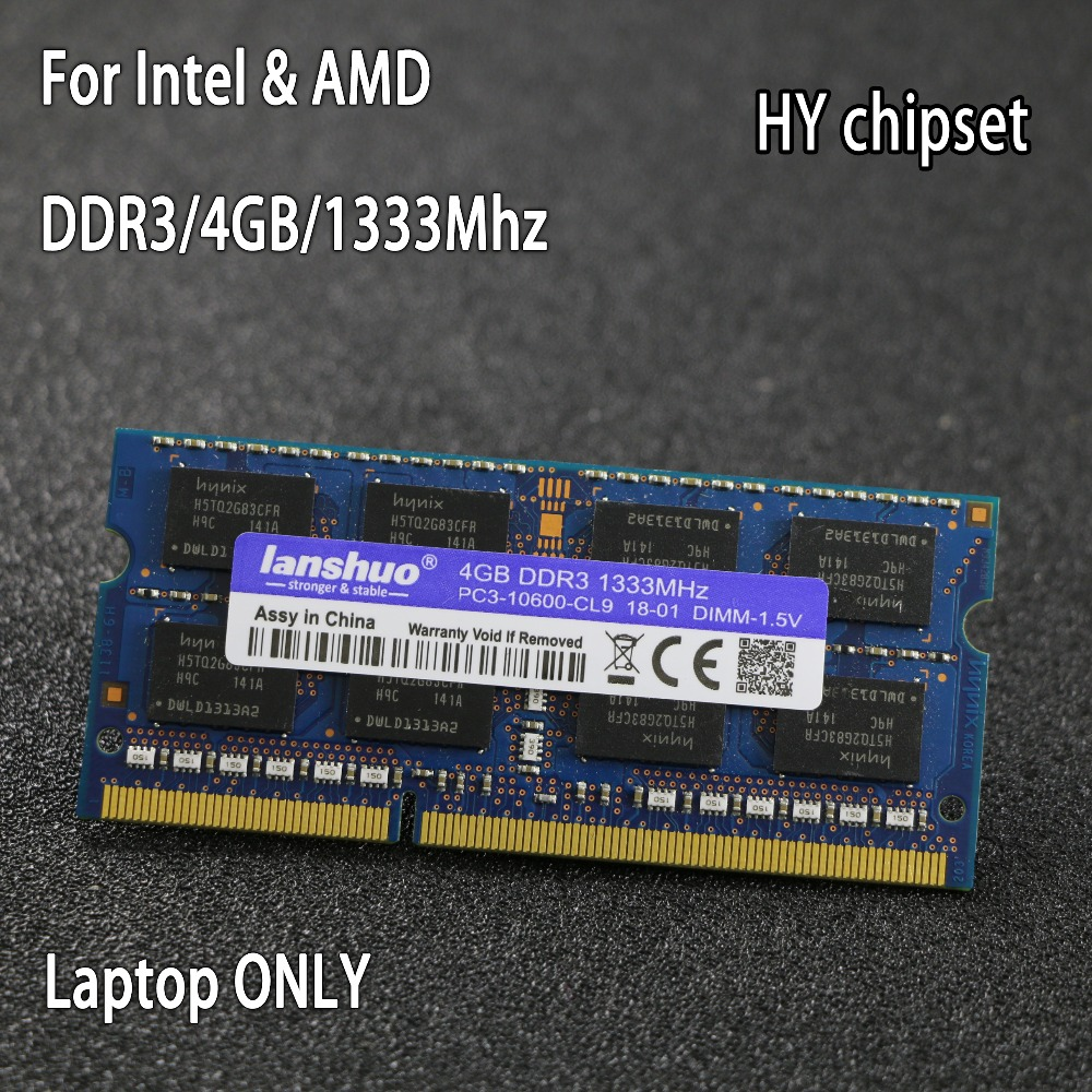 Results Of Top Ddr3 1333 4gb Sodimm In Sadola Sodim Original Hy Chipset 4g 1333mhz 1600mhz 1066mhz Pc3 10600s Notebook Memory Laptop Ram For Intel Amd