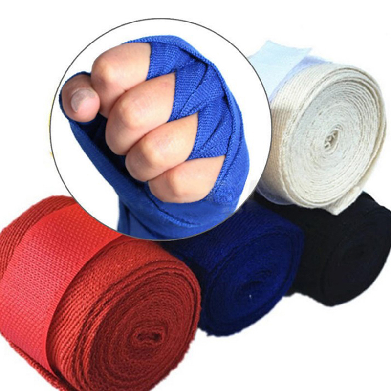 Boxing Bandage Hand Wrap Muay Thai Kickboxing Kick Boxing Men Women Boxer Taekwondo Sports Bandages  2500 X 50 X 1mm