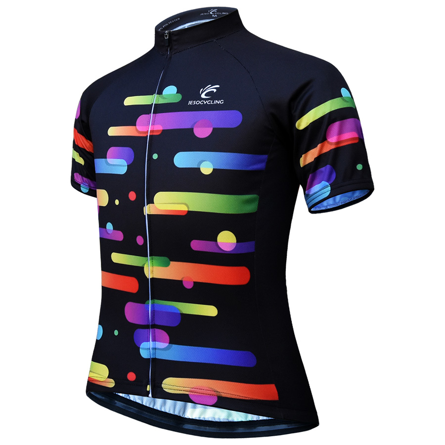 Cycling Jersey Women Top Breathable Summer Racing Bicycle cicismo MTB Bike Jersey maillot ciclismo Short Sleeve Bike ShirtsCycling Jersey Women Top Breathable Summer Racing Bicycle cicismo MTB Bike Jersey maillot ciclismo Short Sleeve Bike Shirts