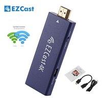 New EZCast 4K TV Dongle Dual Band 2 4GHz 5GHz WiFi Miracast Airplay DLNA TV Stick