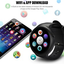 Voberry I4 Pro 3G Bluetooth Smart Watch, MTK6580, Ram 2GB, Rom 16GB, Android 5.1, Wifi, GPS, Quad Core Smartwatch for Andorid/iOS