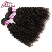 Malaysian Kinky Curly Virgin Hair 3 Bundlesrocessed 8A Malaysian Deep Curly Virgin Hair 100% Human Hair Weaving