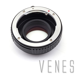 VENES For Pentax-M4/3, Focal Reducer Speed Booster, Adapter ring For Pentax Lens to suit for Micro Four Thirds 4/3 Camera