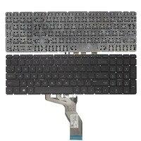 US клавиатура для ноутбука hp 15-BS 250 G6 255 G6 256 G6 (только клавиатура) английскую клавиатуру