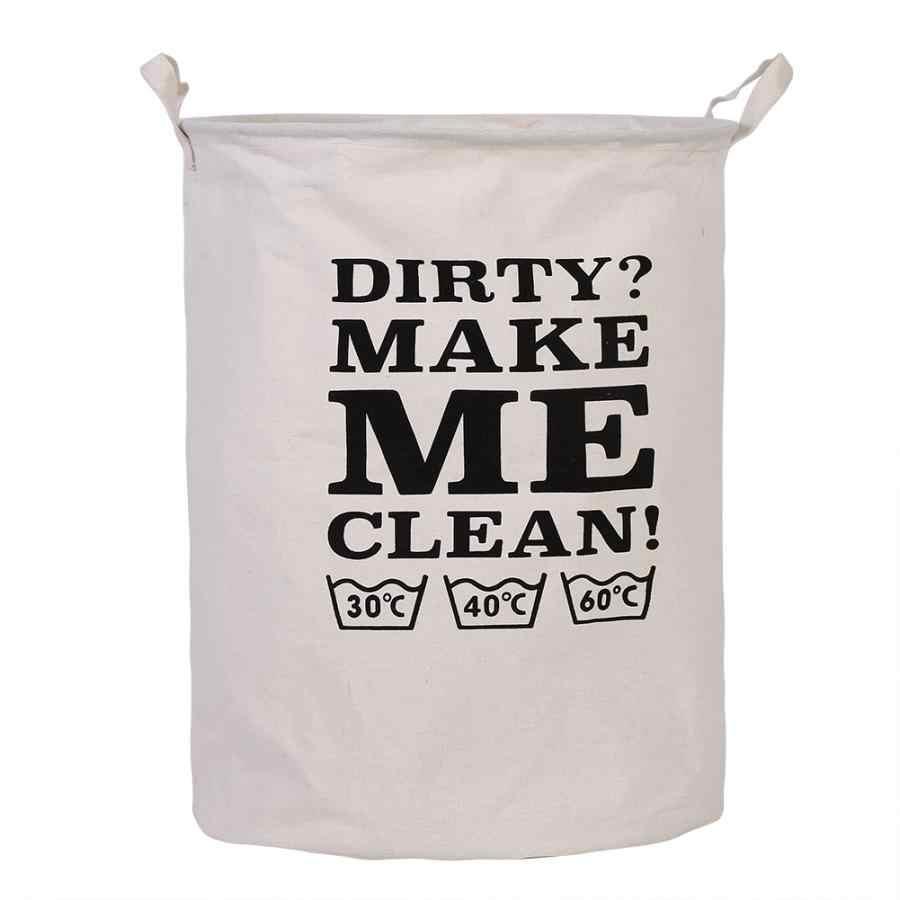 Nova cesta de lavanderia dobrável saco organizador de pano saco de lavanderia cestas de piquenique grandes cestas sacos de impressão organizador cesta de lavanderia 11