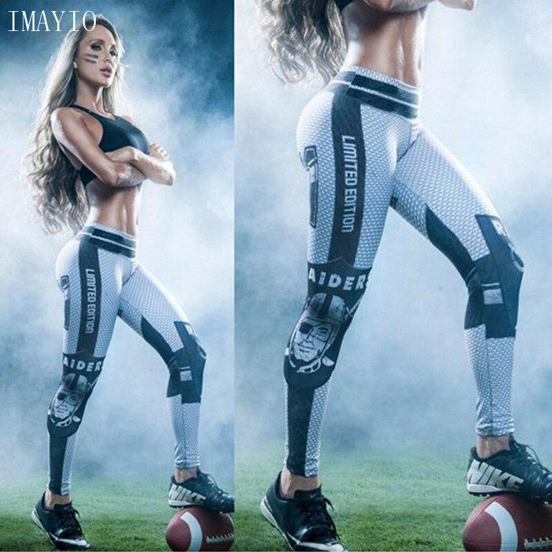 Prix pour Femmes captain america 3d imprimer sport yoga pantalon élastique fitness pantalon style workout collants