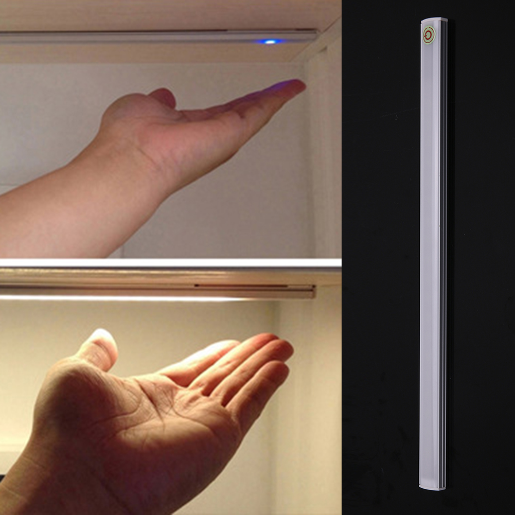 LED Touch Dimming Sensor Lamp USB Ultrathin Closet Cabinet Lamp Kitchen Living Room Study Reading Lighting