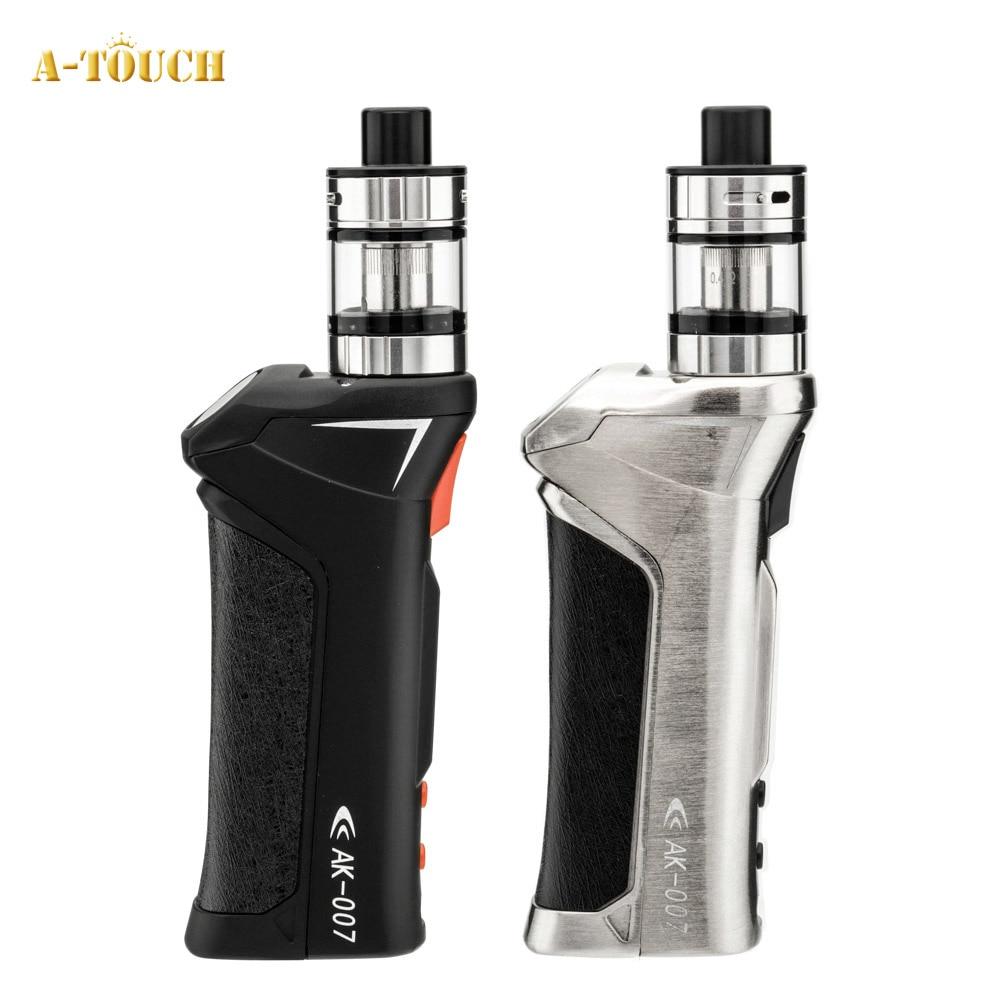 elektronik sigara Starter Kit Atouch AK007 70W Vape Kit E Cigarette mod 2ML Capacity Tank Vaporizer VS Target Pro iStick Pico