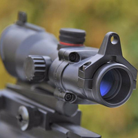 ACOG 1x35 Hunting Red Green Dot Sight Scope Tactical Riflescope For Air Rifle