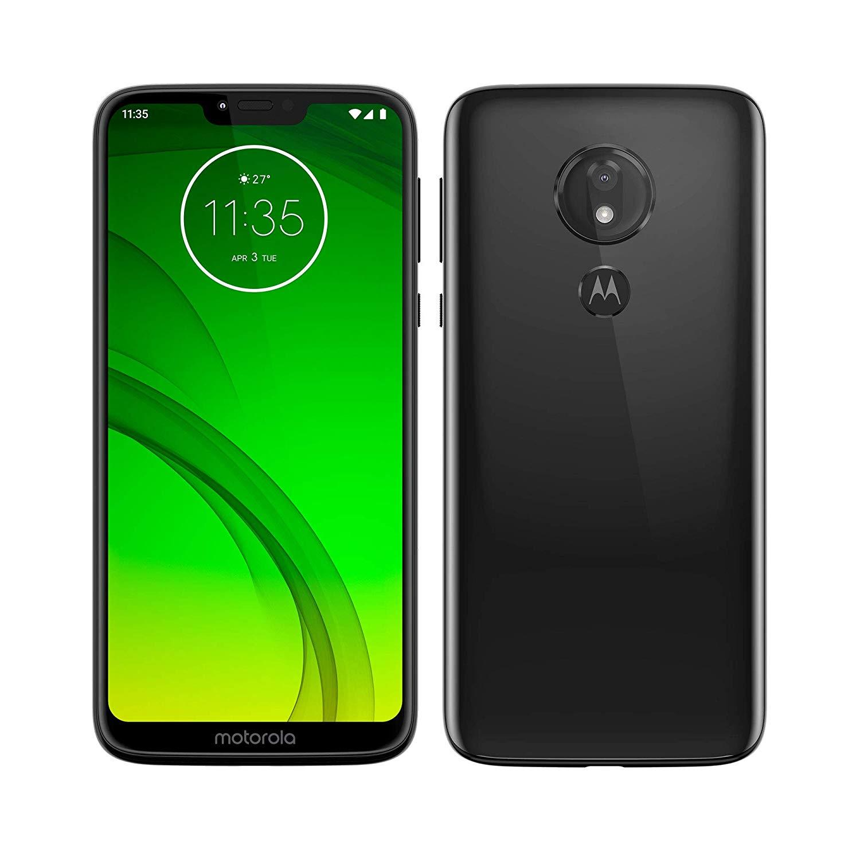 Motorola Moto G7 Power, couleur noire (noir), double SIM, 6 4 go de mémoire interne, 4 go de Ram, écran 6.2 ''hd, Cám