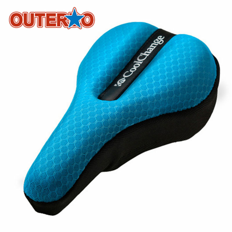 28.5x17.5cm Soft Bicycle Saddle Pad Comfortable Cycling Cushion Seat Cover Case For MTB Road Bike Mountain Bike