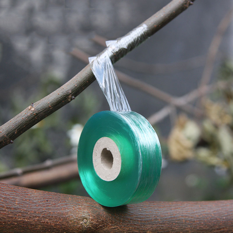 2CMX100M Grafting Tape Stretchable Self Adhesive Grafting Film Special Fruit Tree Grafting Tool Garden Bind Tape