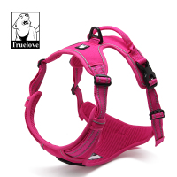 True Love Reflective Large Dog Harness Nylon Pet Training Vest With Handle For Medium Large Breeds