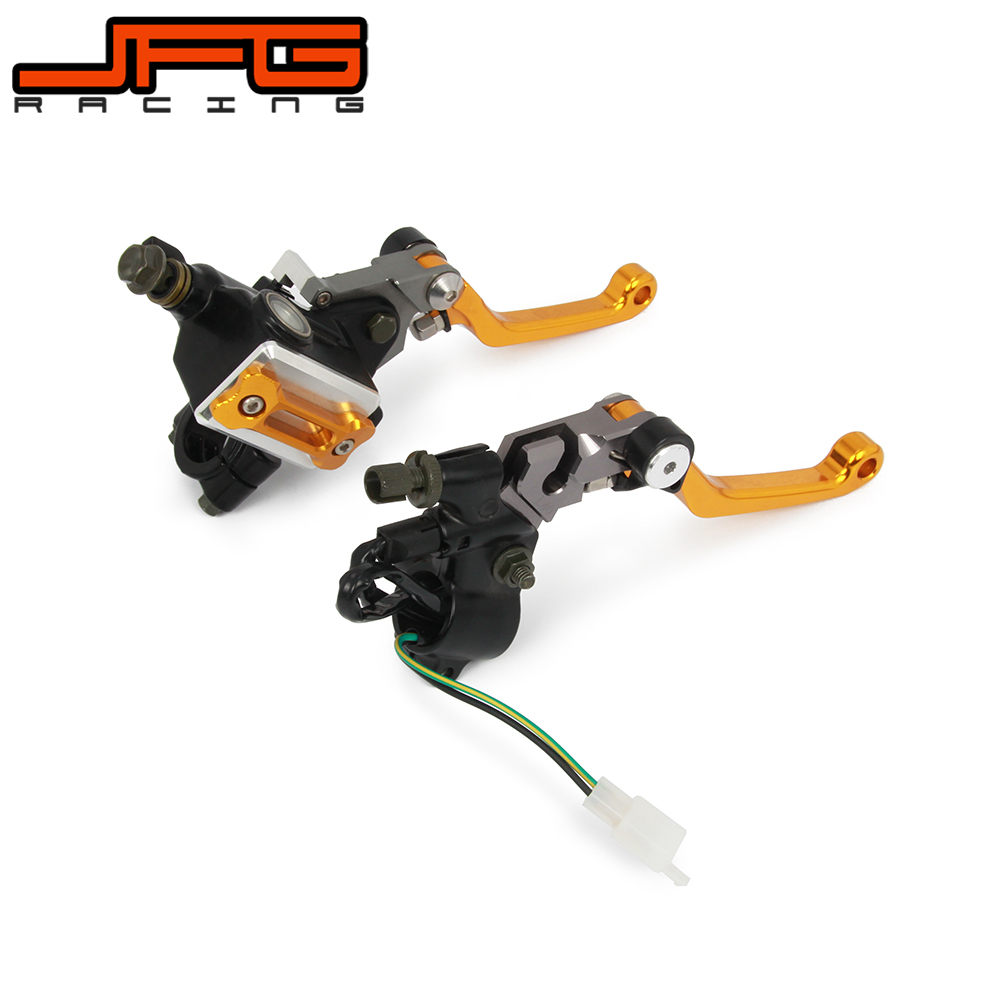 22MM Motorcycle Brake Lever Master Cylinder Cable Clutch Perch For SUZUKI DRZ400 DRZ400SM RMZ250 RMZ450 DR650 RM125 blackvue dr650 s 1ch