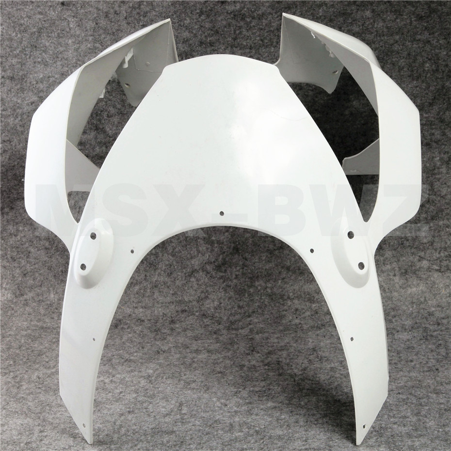 Fit Honda CBR 954 RR 2002 2003 ABS Plastic Motorcycle Upainted Upper Front Fairing Cowl Nose CBR954RR 02 03