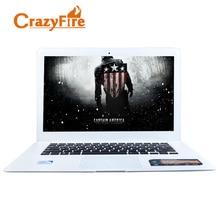 CrazyFire ноутбук 4 ГБ оперативной памяти и 64 ГБ SSD J1900 Quad Core ноутбук Wi-Fi HDMI 1.3MP HD Webcam Windows 10 игровых ноутбуков