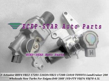 Turbo Attuatore Elettronico RHV4 VB22 17201-51020 + VB23 17208-51010 Per TOYOTA Land Cruiser 200 D40 508F 1VD-FTV VDJ76 VDJ78 4.5L