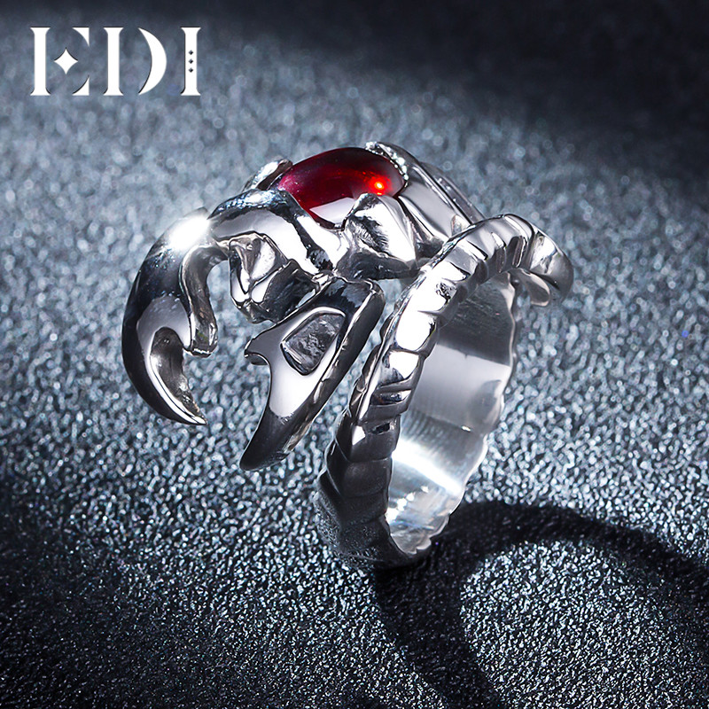 EDI Vintage 925 Sterling Silver jewelry Man's Ring