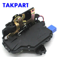 TAKPART FOR VOLKSWAGEN POLO 9N FRONT LEFT CENTRAL DOOR LOCK 03 13 8 PIN 3B1837015AM, 3B1837015AQ, 3B1837015N