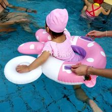 2019 new baby swimming inflatable child seat infant circle play water toys thick pvc cartoon
