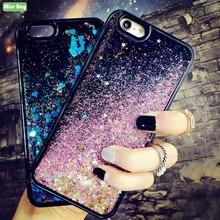 Missbuy Glitter Liquid Sand Quicksand Star Case MI 8 Lite For Xiaomi Mi8 6.26 Fundas Mi