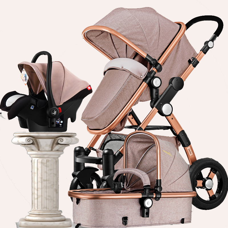 GOLDEN BABY GoldBaby baby stroller 2in1 3in1 Russian baby car seats free shipping
