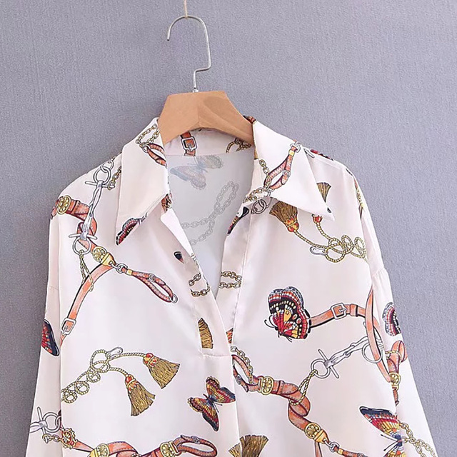Butterfly Shirt and blouses for Women 5
