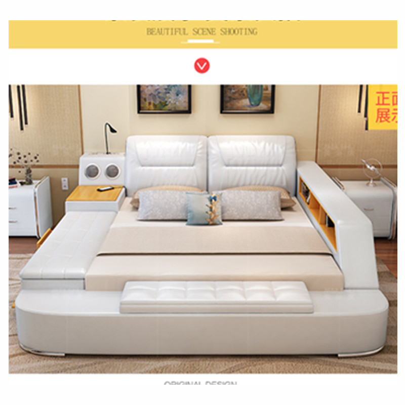 US $1099.0 |Modern bed with storage massage functions multifunctional bed  sets-in Bedroom Sets from Furniture on Aliexpress.com | Alibaba Group