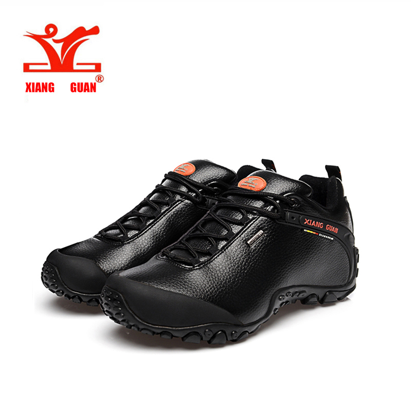 ФОТО 2016 XIANG GUAN hiking shoes poly urethane waterproof slip resistant shoes, Climbing Outdoor shoes breathable shoes low 36-45