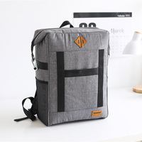 Large Capacity Insulation Bag Picnic Cooler Tote Food Fresh Keeping Wine Lunch Package Bottle Thermal Zip Backpack Accessories