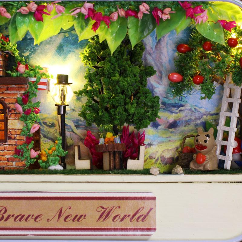 Brave New World Box Theatre DIY 3D Dollhouse